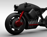 Electric Motorcycle Design by Matthew Law