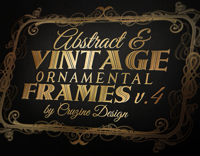 10 Frames Vol.4 - Vintage Ornament