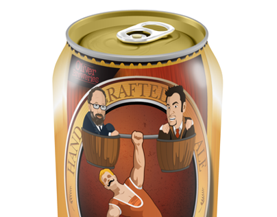 Strongman Pale Ale - Can Design