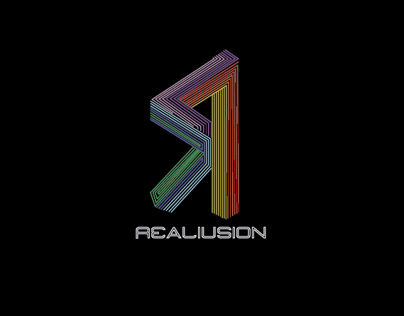 Realusion logo design