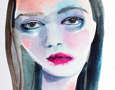 Ephemeral - watercolors