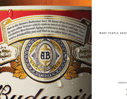 Budweiser Playboy 60th Anniversary Ad