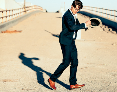 Brent Witt for Blackstone Shoes