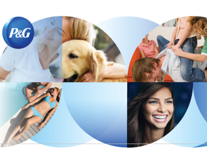P&G Health & Grooming PPT Template