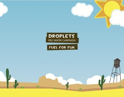 Droplets Pro Water Campaign