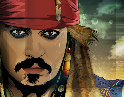 Johnny Depp Vector Series