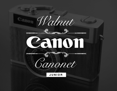 Walnut Canonet 19