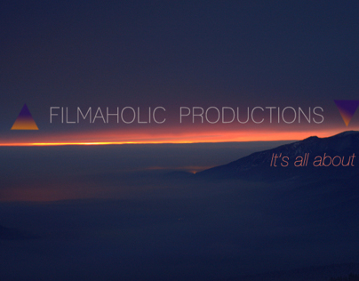 "Logo for ""Filmaholic Productions"""