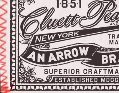 Arrow/ Cluett Labels and Packaging