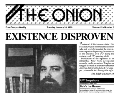 The Onion: Archive Project