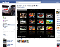Facebook app for camaro.com