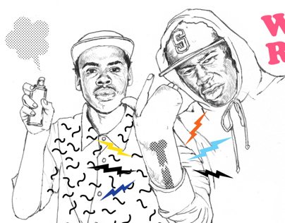 Odd Future Illustration