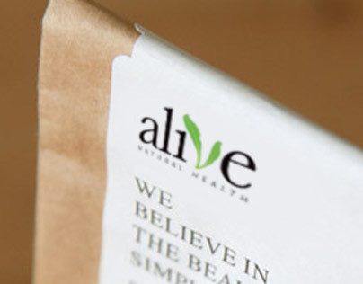 Alive Natural Health - Branding