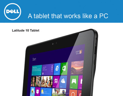 DELL Tablet Latitude 10