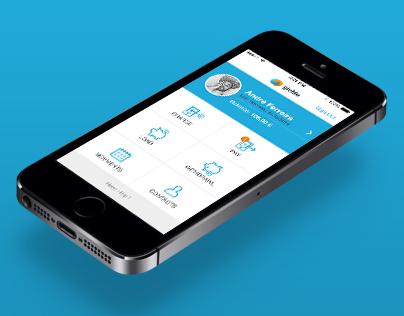 givMe, App concept