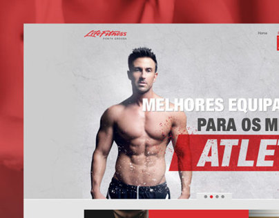 Life Fitness Ponta Grossa Website