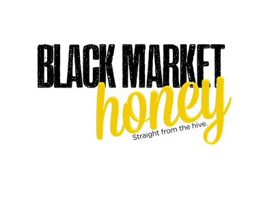 Black Market Honey Branding