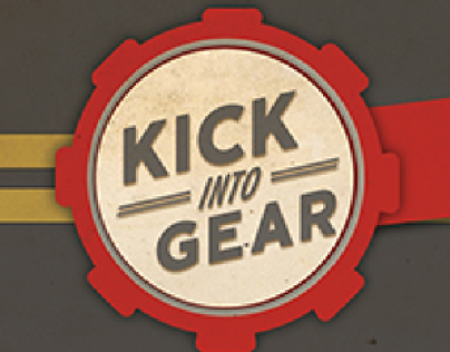 Kick Into Gear - Design concept