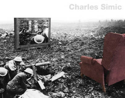 Poetry Reading Poster: Charles Simics Paradise Motel