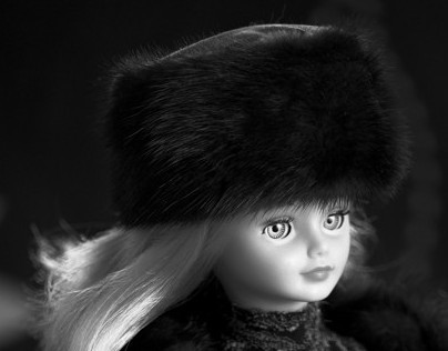 Winter fashion doll