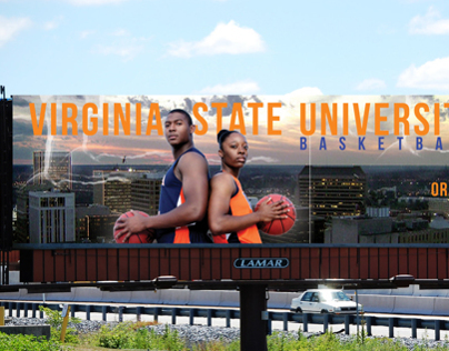 Virginia State University Basketball Billboard