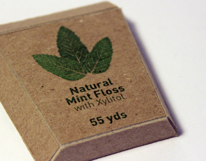 Radius Natural Mint Floss Packaging Redesign
