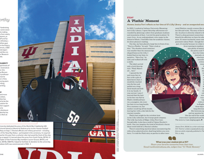 IU Alumni Magazine Winter 13-Stories