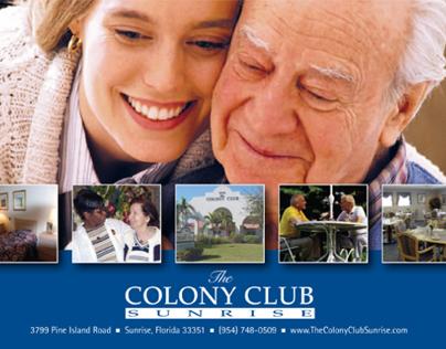 Colony Club Postcard
