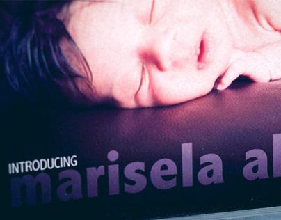 Marisela Ali Birth Announcement Card