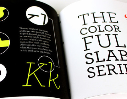 Type Specimen Book: Archer