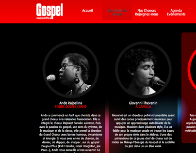 Gospel-aujourdhui.com - Webdesign, HTML/CSS, Wordpress