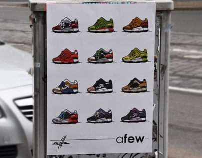 Afew x Kwills x Onitsuka Tiger Best of Gel Lyte 3
