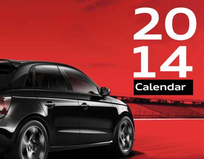 Audi Genuine Parts & Accessories Calendar 2014