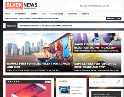 BlackNews - News & Magazine Premium WordpressTheme