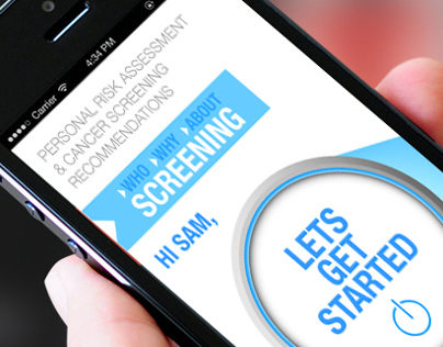 UI / For Cancer Screening Website