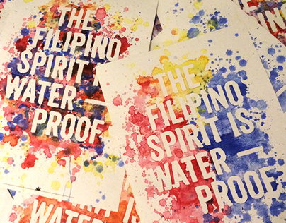Philippines Relief Poster