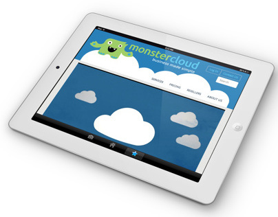 Monster Cloud Responsive Website