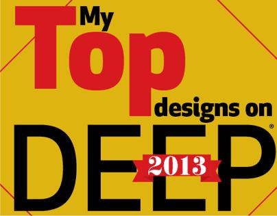 My Top designs on DEEP 2013