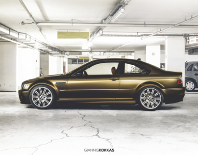BMW M3 e46 ≠ Bond Gold
