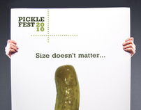 International Pickle Day Festival Posters