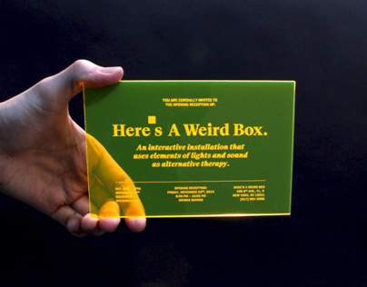 Here's A Weird Box