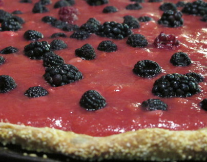 Rhubarb Fieldberry Tart