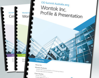 Wontok Brochure – CIO Summit