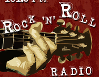 Rock N Roll Radio Poster