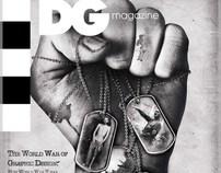 DG Design Magazine Cover - The War Memorial