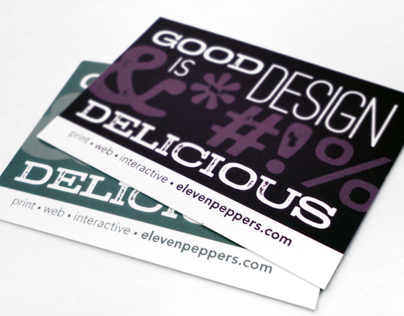 Eleven Peppers Business Cards