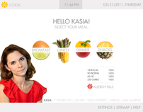 iCOOK interface