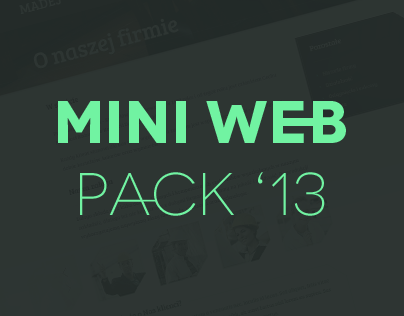 MINI WEB PACK 13
