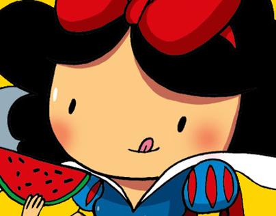 Snow White & WaterMelon