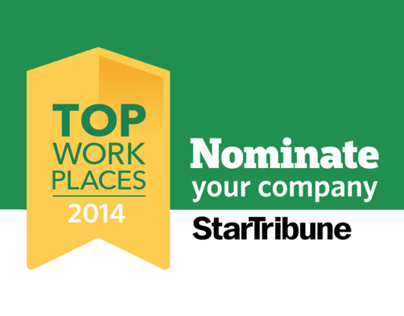 Star Tribune: Top WorkPlaces 2014